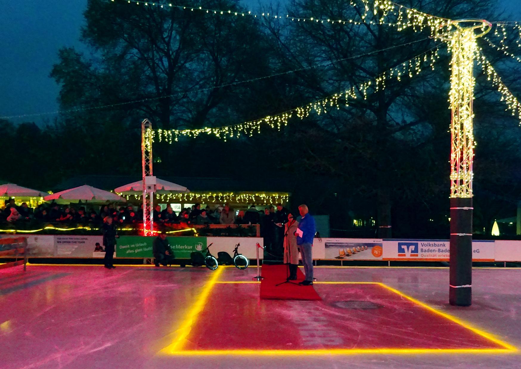 Eröffnung der Eisarena Baden-Baden 2017
